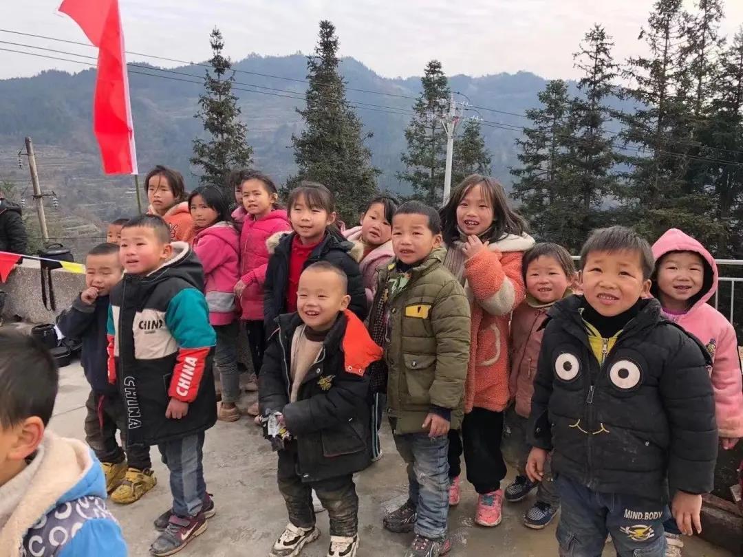 情暖寒冬 | 为山里的孩子带去温暖
